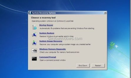 Comment creer une cle USB de reparation Windows 7