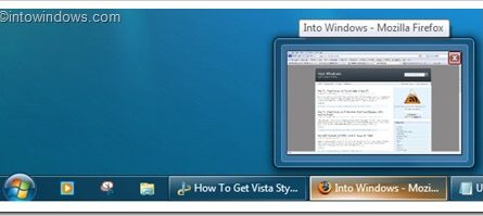 Comment recuperer la barre des taches Vista dans Windows 7