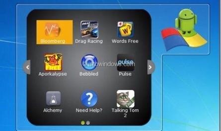 Executez des applications Android sur PC