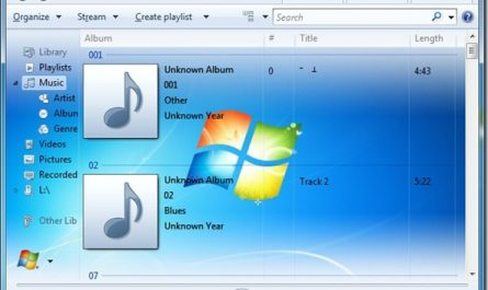 Set A Custom Picture As Windows Media Player Library Background In Windows 7 thumb