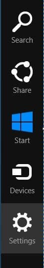 Synchroniser dans Windows 8 Step1