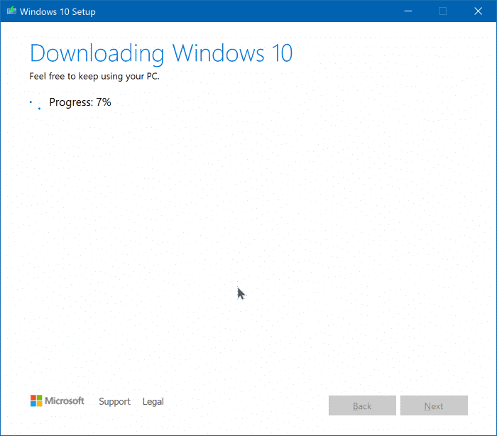 Mettre à niveau vers Windows 10 version 1909 pic3
