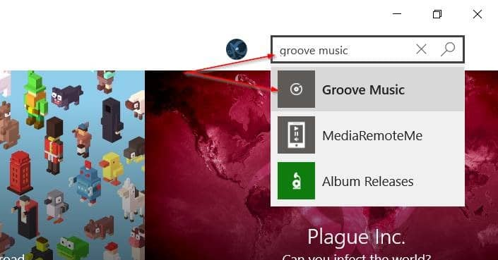 Réinstaller Groove Music dans Windows 10 pic6