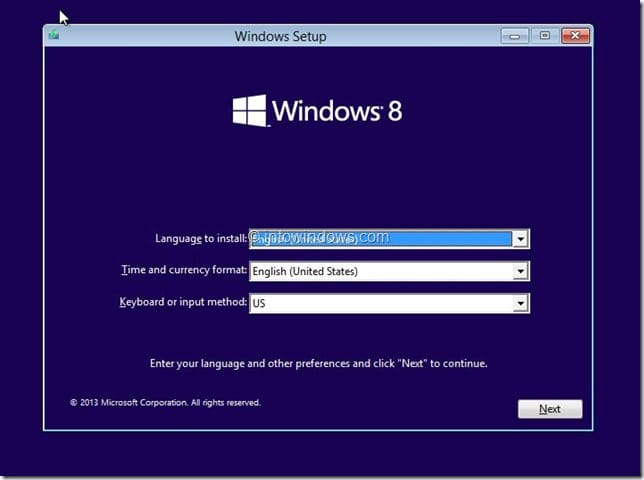 Restaurer l'image Windows 8.1