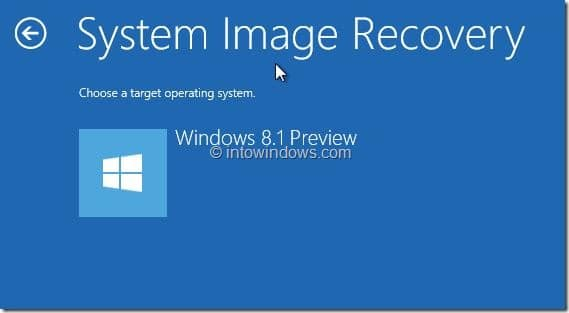 Restaurer l'image Windows 8.1 Étape 23