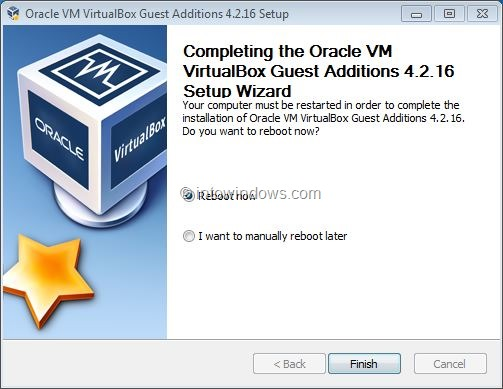 Activez Windows 7 Aero dans VirtualBox Step7