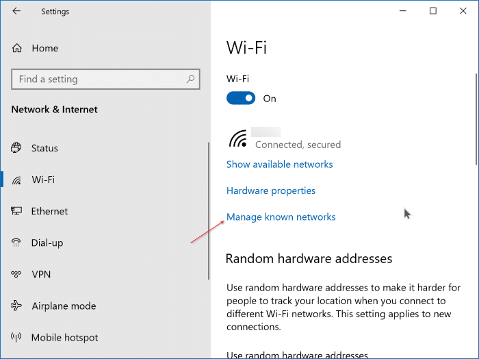 Windows 10 ne se connecte pas automatiquement au Wi-Fi pic4