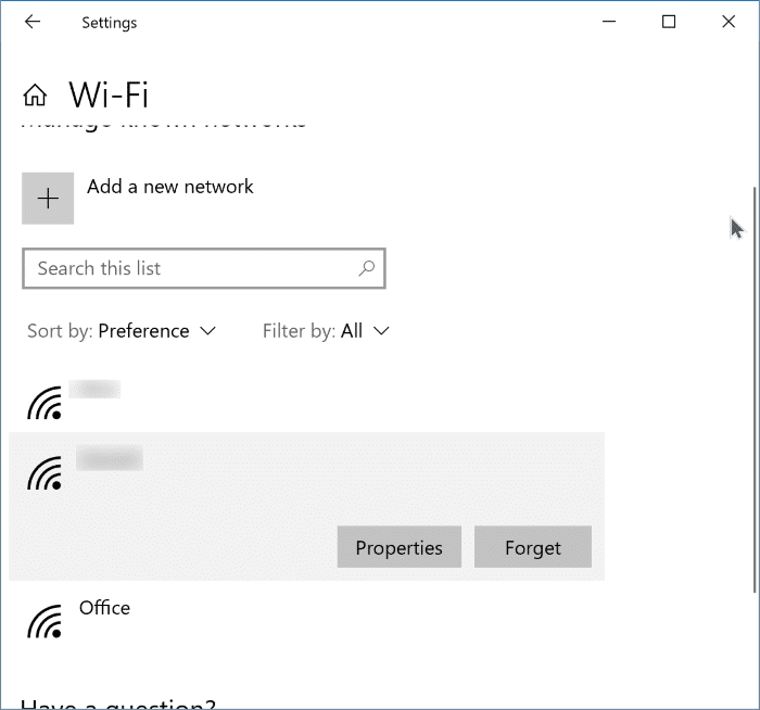 Windows 10 ne se connecte pas automatiquement au Wi-Fi pic5