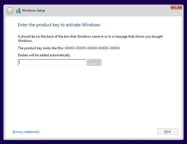 Installez Windows 8.1 sur SSD Step3