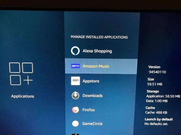 désinstaller des applications d'Amazon Fire TV pic2