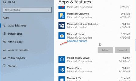 Comment reinstaller Store et dautres applications dans Windows 10