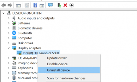 Reinstall display graphics driver in Windows 10 pic3