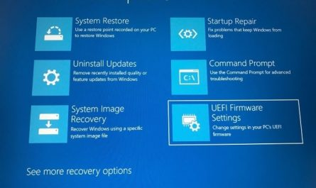 access uefi firmware settings in Windows 10 pic7 1