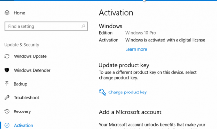 activate Windows 10 after replacing HDD with SSD pic1