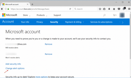 change microsoft account phone number pic11