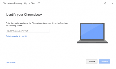 create google chrome recovery drive on Windows 10 pic4