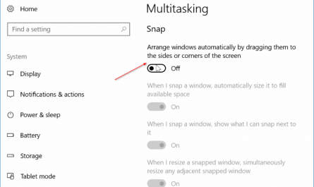 disable auto window resizing in windows 10 pic1