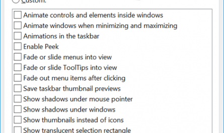 disable visual effects in Windows 10 pic3