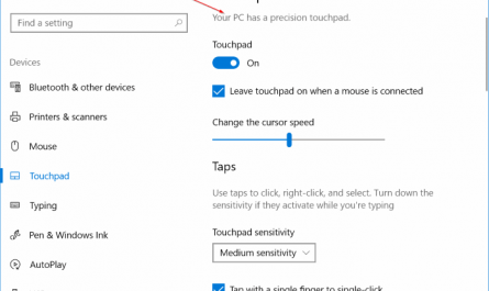 enable precision touchpad on any Windows 10 laptop pic16 1