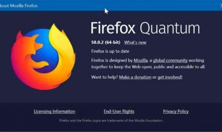 refresh firefox to repair it