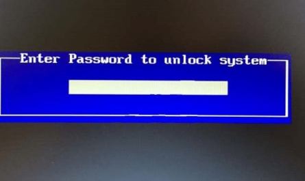 reset bios password on Windows 10 PC with ease pic01