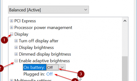 screen brightness not increasing in Windows 10 pic4
