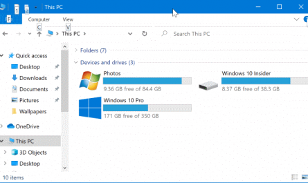 show or hide drive letters in Windows 10 File Explorer pic1